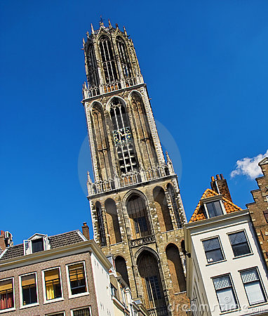 Free Dom Cathederal In Utrecht, Holland Stock Images - 13216974