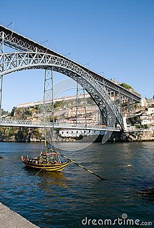 Free Dom Luís 1st Bridge Stock Photos - 11406283