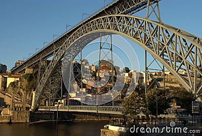 Dom Luis Bridge on Oporto
