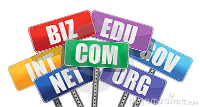 Domain names signs internet