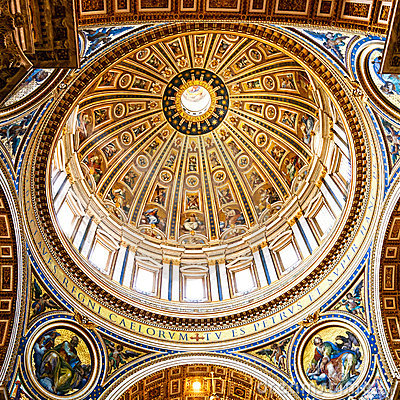 Dome, artistic details Editorial Stock Photo