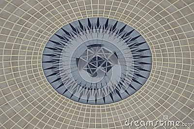 Dome of  auditorium