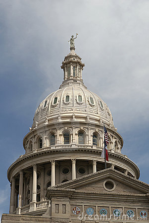 Dome of Capital State of Texas