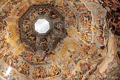 Dome of the cathedral in Florence