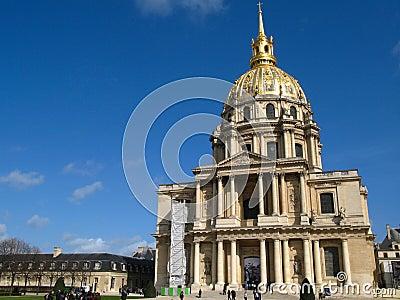 Dome Church, Invalides, Paris, France