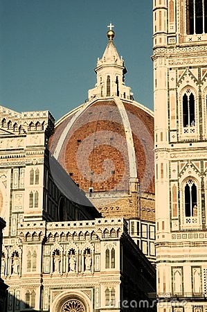 The dome of Florence, Italy