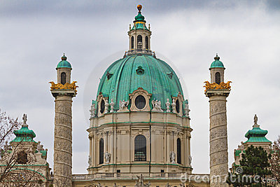 Dome of the Karlskirche (St. Charles s Church)
