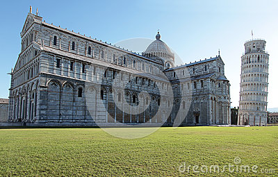 The Dome and the leaning tower of Pisa - Italy