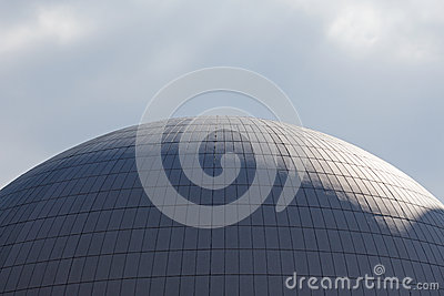 The dome of  nuclear reactor of nuclear power plant