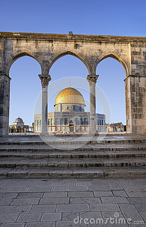 Free Dome Of The Rock In Jerusalem Royalty Free Stock Images - 76462139