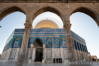 Dome of the Rock Editorial Image