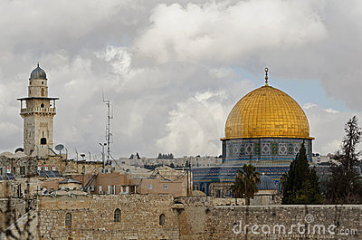 Dome of Rock in Jerusalem