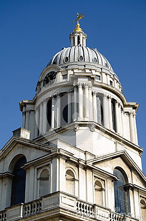 Dome at Royal Naval College, Greenwich
