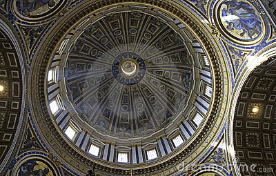 Dome of Saint Peter s Basilica, Rome