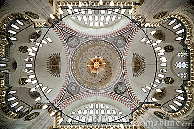 Dome at Suleymaniye Mosque