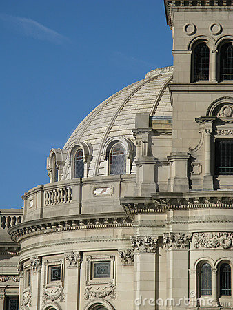 Domed stone building