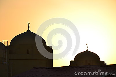 Domes of mosques