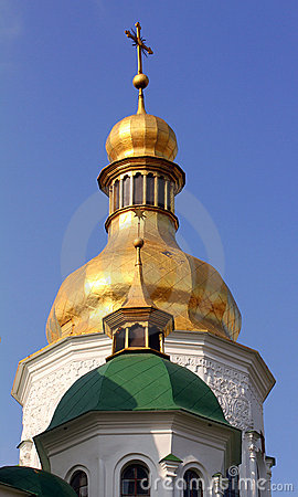 Free Domes Of Cathedral In Kiev Royalty Free Stock Image - 22546166