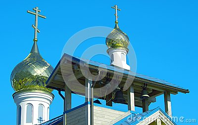 Domes of orthodox church