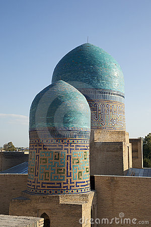 Domes of Samarkand city