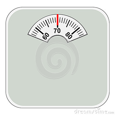 Free Domestic Floor Scales Royalty Free Stock Images - 98923989