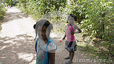 Dominican child Editorial Image