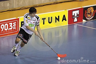 Dominik Hanic - floorball player Editorial Photo