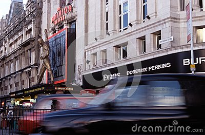 The Dominion Theatre, London. Editorial Photo