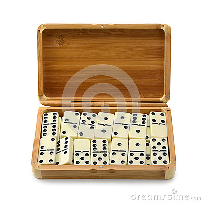 Free Domino In Box Stock Images - 39294314