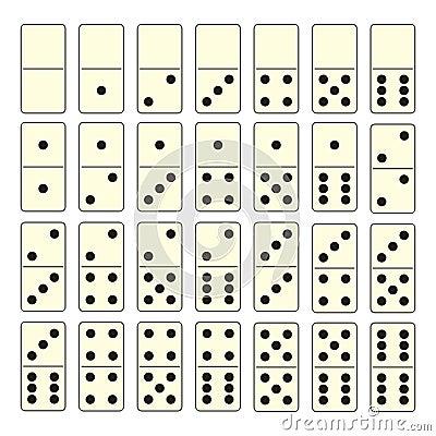 Domino set
