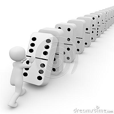 Free Dominoes Stock Photo - 31197670