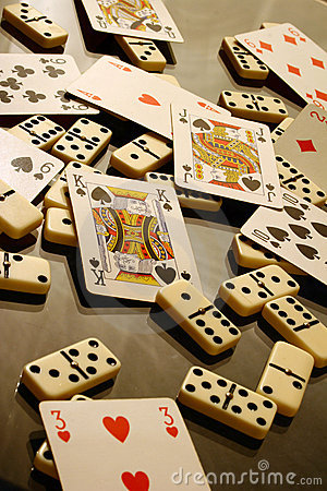 Dominoes and Cards