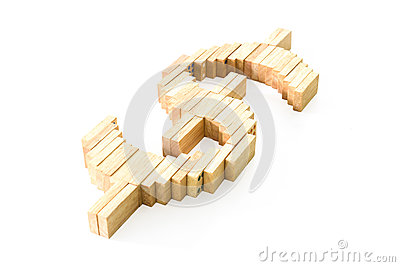 Dominos  dollar symbol