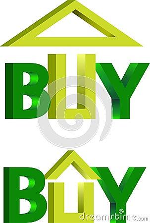 Domowy zakupu logo