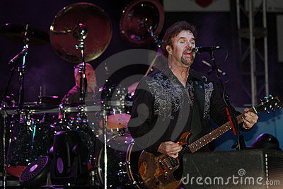 Don Barnes of .38 Special band Editorial Image