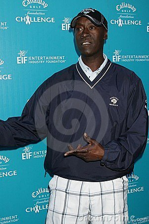 Don Cheadle Editorial Stock Image