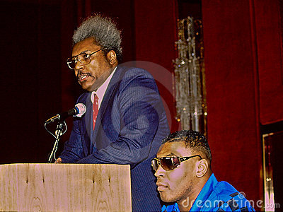 Don King and Mike Tyson Editorial Photo