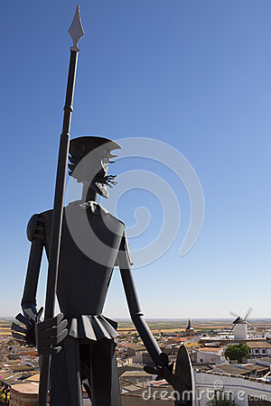 Don Quixote in La Mancha - Spain