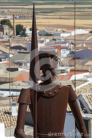 Don Quixote - La Mancha - Spain Editorial Stock Image