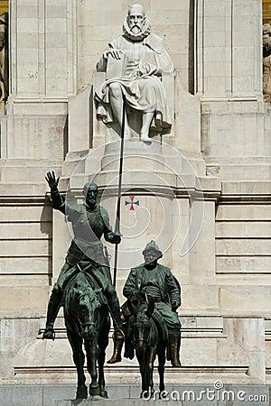 Free Don Quixote Statue Stock Image - 9249301