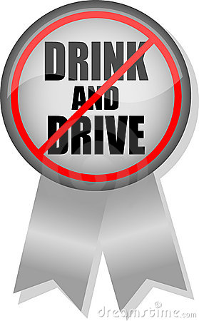 Don t Drink & Drive Button Ribbon