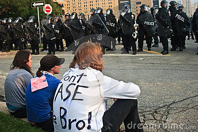 Don t Tase me Bro! G8/G20 Protests Toronto Editorial Photo