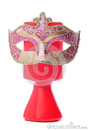 Donación de la caridad y máscara de la mascarada