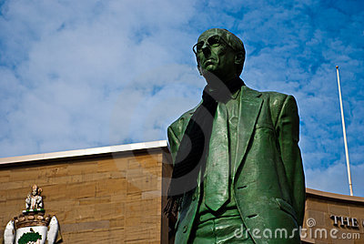 Donald Dewar statue at Buchanan street, Glasgow