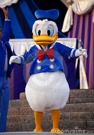 Donald Duck Editorial Stock Image