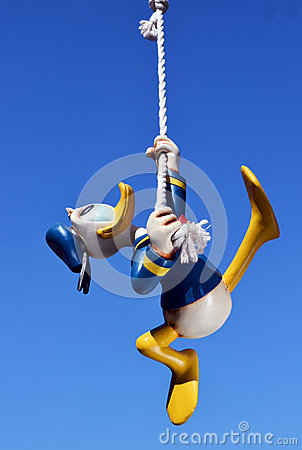 Disney Donald Duck Editorial Photography