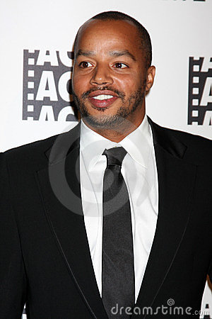 Donald Faison Immagine Stock Editoriale