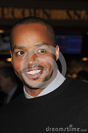 Donald Faison Editorial Image