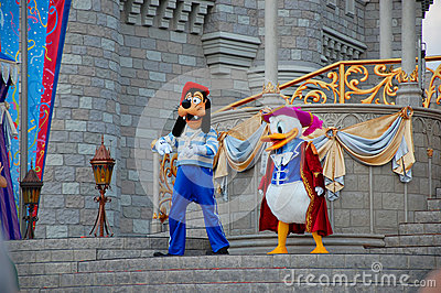 Donald and Goofy Editorial Image
