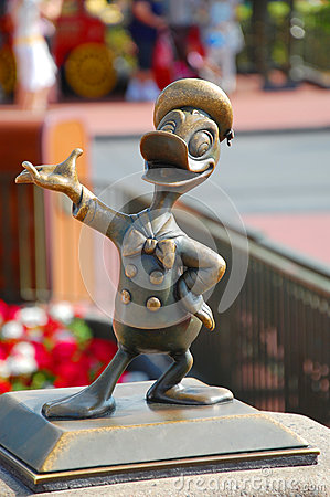Donald Statue Editorial Photo
